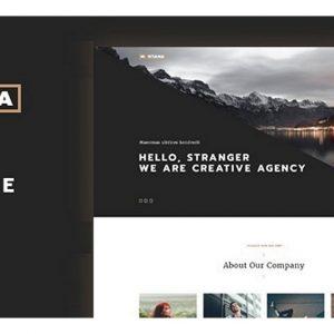 Montana - Modern & Complete One Page Portfolio WordPress Theme | Themeforest Website Templates and