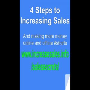 4 Steps to Increasing Sales  #Shorts Sales Copy Advertising and Internet Marketing Tips