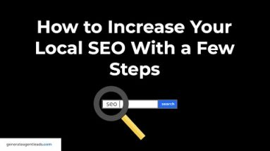 Easy Local SEO Tutorial For Real Estate Agents