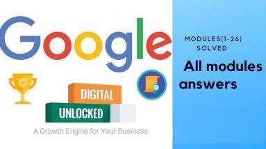 Google Digital Marketing Garage Certification Final Exam Answers 2021 & Upcoming 2022