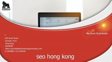 SEO HK - everything you need to know about search engine optimisation in Hong Kong