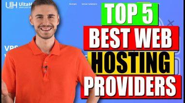 TOP 5 Best Web Hosting Providers in 2021 🔥